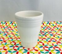 Fiestaware White Bathroom Tumbler Fiesta Tapered 6.5 oz Cup