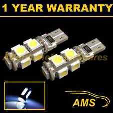 2X W5W T10 501 CANBUS ERROR FREE WHITE 9 LED SIDELIGHT SIDE LIGHT BULBS SL101706