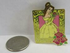 Walt Disney Collectible Trading Pin Bell In A Frame With Roses ~Dp16