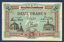 FRANCE - LIMOGES 2 FRANCS Pirot n° 73. 25 du 1 janvier 1923. en TTB  22132