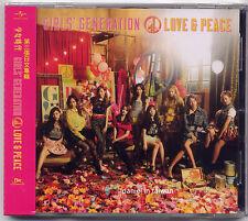 Girls' Generation: Love & Peace - 3rd Japan Album (2013) CD TAIWAN