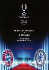 * 2013 UEFA SUPER CUP-Chelsea V il Bayern Monaco *