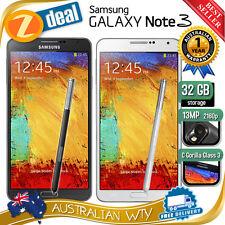 (NEW SEALED BOX) SAMSUNG GALAXY NOTE 3 N9005 4G LTE 16GB 32GB UNLOCKED + OZ WTY