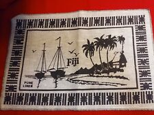 """Set of 12 FIJI Pure Linen Placemats 12"""" x 17"""", NEW condition, excellent"""