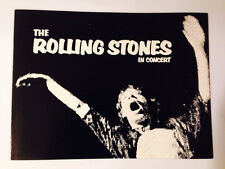 THE ROLLING STONES Concert Program EXILE ON MAIN STREET TOUR '72-JAGGER