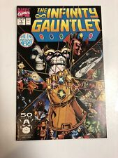 Infinity Gauntlet (1991) # 1 (NM) Stalin + Perez !