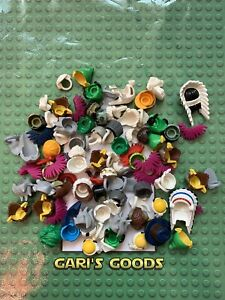 Lego Mixed Hair & Beards Male Minifigures Bundle GENUINE GREAT