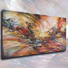 "Art Abstract Painting 48"" Modern Contemporary Interior DECOR Mix Lang Original"