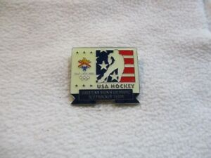 USA Ice Hockey Federation / Olympic Team for Olympic Games SaltLakeCity 2002 pin