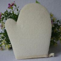 Unisex Exfoliating Gloves Shower Body Loofah Mitt Bath Spa Skin Wash Scrub D