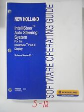 New Holland IntelliSteer Auto Steering System Version 25 Operators Manual