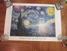 MUSEUM ART PRINT - The Starry Night by Vincent Van Gogh 30.5x27 MOMA Poster