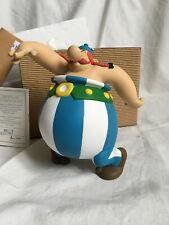 Figurine résine ASTERIX et les Normands LEBLON DELIENNE Obélix danseur 369 1997