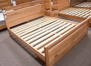 Elwood - 4 Piece Bedroom Set - Solid Tasmanian Oak Timber - With Bed End Storage