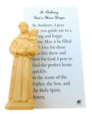 St Anthony Home Finder Kit Statue & Prayer for Buying a House by Westman Works