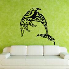 Wall Decal Sticker Vinyl Grampus Dolphin Fish Pattern Ocean Sea bedroom M320