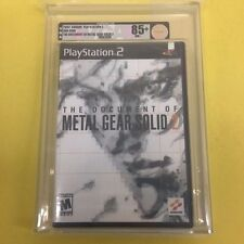 The Document of Metal Gear Solid 2 II BRAND NEW & Factory Sealed VGA 85+ for PS2