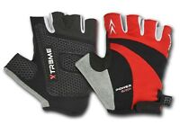 Top Cycling Gloves Cut Finger Glove Anti Slip Palm Protection Fingerless Mitts