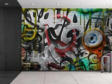 wall26 - Colorful Graffiti - Large Wall Mural,  Home Decor - 66x96 inches