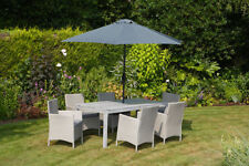 Up to 6 Seats 7 Pieces Metal Garden & Patio Furniture Sets