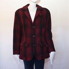 Ralph Lauren Country Vintage plaid wool Edwardian style jacket.size 4