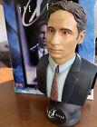 "10"" Porcelain Agent Mulder Bust X Files Fight the Future Legends in 3D Aronowitz"
