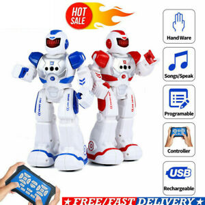 Ferngesteuerter RC Roboter Tanzen Singen Geste Sensor Kinder Spielzeugroboter