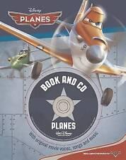 Disney Planes Book and CD by Parragon Book Service Ltd (Hardback, 2013)