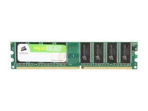 Corsair ValueSelect Memory 1GB Kit (2x512MB) DDR SDRAM PC2700, 333MHz RAM