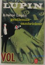 Arsène Lupin, gentleman-cambrioleur Maurice Leblanc 1984