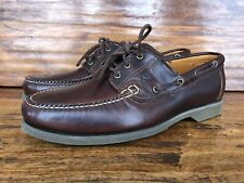 "Men's Allen Edmonds ""Key Largo"" Casual Boat Shoes Size 11 EE Wide Factory 2nds"