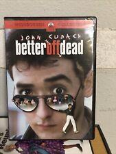Better Off Dead (Dvd, 2002, Sensormatic) Box #80