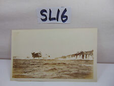 VINTAGE 1920'S US NAVY PICTURE POSTCARD SUBMARINE SUB COMING UP SURFACING DRILLS
