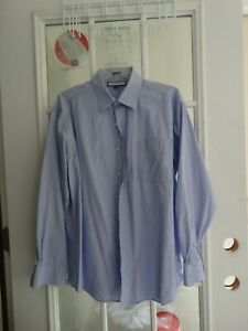 Men's Dress Shirt by Tommy Hilfiger Size 16 1/2 Sleeve 34 - 35  pre-owned