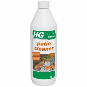 HG Patio Cleaner 1 Litre Concentrated Path Concrete Paving Stone Slab Cleaner