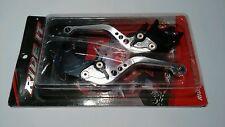 Honda VFR 400 NC30 Ride IT Adjustable Silver Levers Black Adjusters