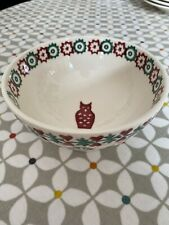 More details for emma bridgewater christmas joy fox french bowl  first quality