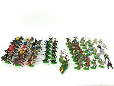 Large Lot of 60+ Britains Deetail Knights & Turks Figures + Dragon