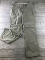 The North Face women's pants size 8 Series A5 Pant Tan khaki pocket Hiking Relax