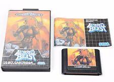 ALTERED BEAST Sega Mega Drive PAL COMPLETE