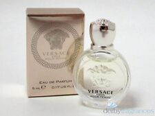 Versace Eros Pour Femme Eau de Parfum EDP Splash Mini .17 oz 5 ml New in Box