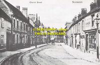 L106980 Nuneaton. Church Street. c. 1905. Bedworth Print and Design. John Burton