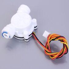 "G1/4"" Water Flow Hall Sensor Switch PE Pipe Flow Meter Flowmeter Counter"