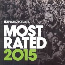 Defected Presents Most Rated 2015 Various Artists 0826194297527