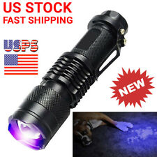 MIXAR UV Light Flashlight Ultraviolet Blacklight LED Lamp Pet Dog Urine Detector