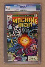 Machine Man #6 CGC 9.8 1978 0164969009