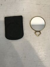 Vintage Goldtone Mirror Compact Germany Victorian?