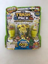 Trash Pack Series 5 Sewer Trash Liquid Ooze Pack with 6 Trashies Brand New