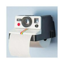 Camera Style Toilet Tissue Holder Roll Paper Stand Storage Wall Mounted Bathroom