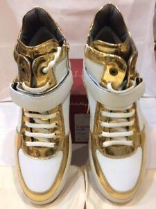 "Salvatore Ferragamo""NAYON""Men Sneakers.Leather.Fashion.Size-9EE"